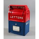 Restored Vintage Cast Iron Mail Box