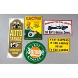 Various Garage Signs (5)