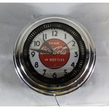 Contemporary Spinner Light Up Coca Cola Clock