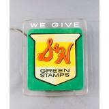 Vintage S & H Green Stamp Light Up Sign