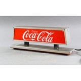 Contemporary Coca-Cola Double Sided Light Up Sign