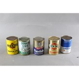 Vintage Automotive Full Oil Cans (5)