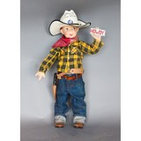 Child's Mannequin in Cowboy Clothing