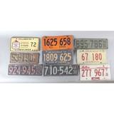 Vintage Automotive License Plates (65)