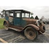 1927 Chevy 4 Door Sedan