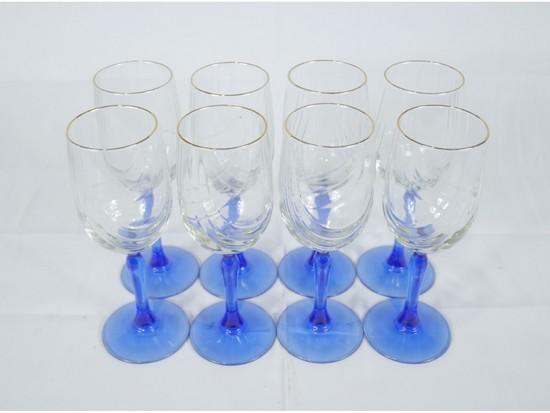 Libbey 10oz Wine Glasses (8)