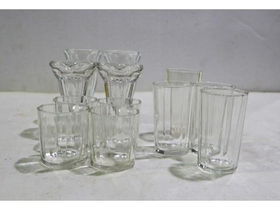 Box Lot Sundae/Dessert Cups, Glass Tumblers (12)
