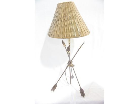 Southwest Rustic Arrow Table Lamp