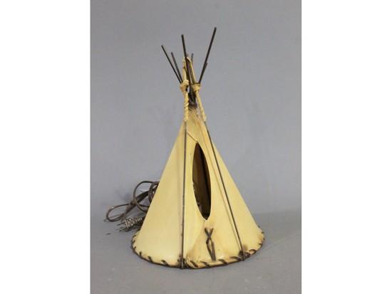 Southwest Teepee Lamp