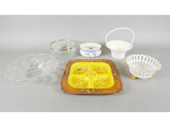 Various Bowls and Platters (6)