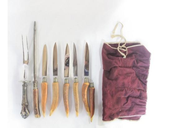Anton Wingen Knives & Sharpening Rod (8)
