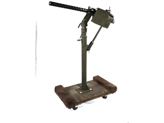 Browning M1919 Display .30 Cal Machine Gun