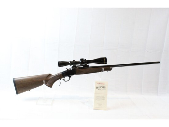 Winchester Model 1885 Low Wall Rifle 223 Caliber