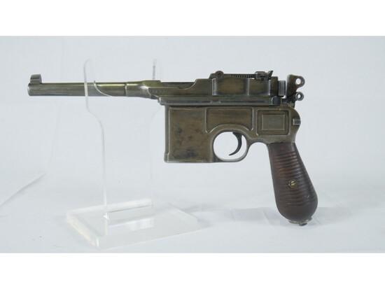 C96 Broomhandle Pistol 30 Caliber