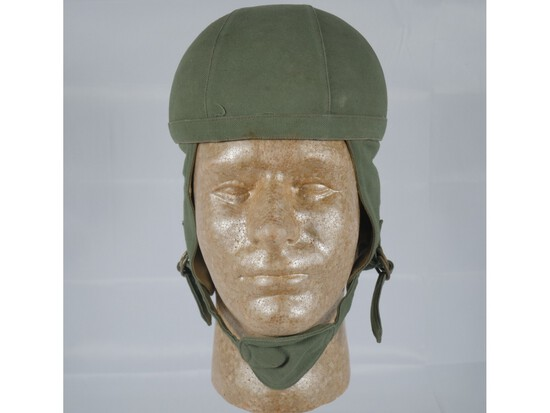 WWII Unknown Paratrooper Jump Helmet