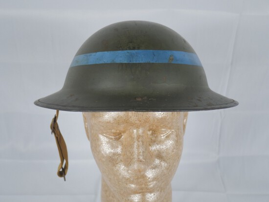 WWII US Air Raid Helmet