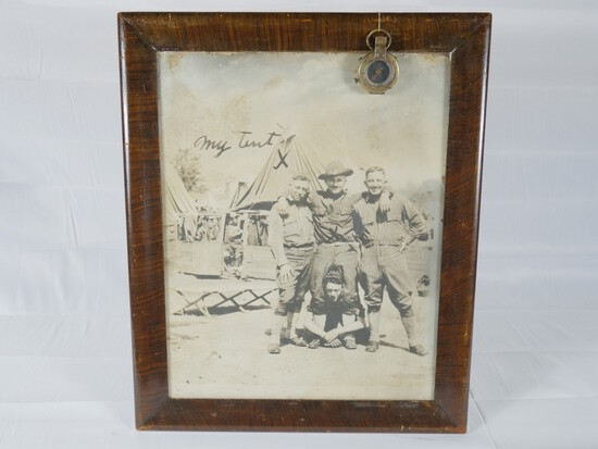 WWI US KIA Photograph & Compass Group