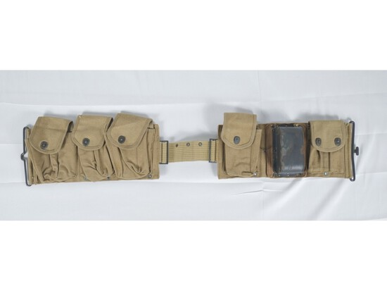 WWI US BAR Ammo Belt Dated 1918