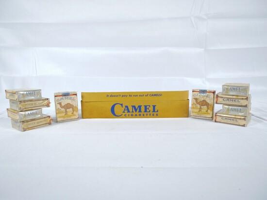 1950s Camel Cigarette Carton