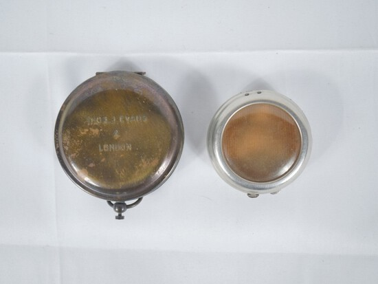WWI German Pocket Watch Trench Case/Field Compass