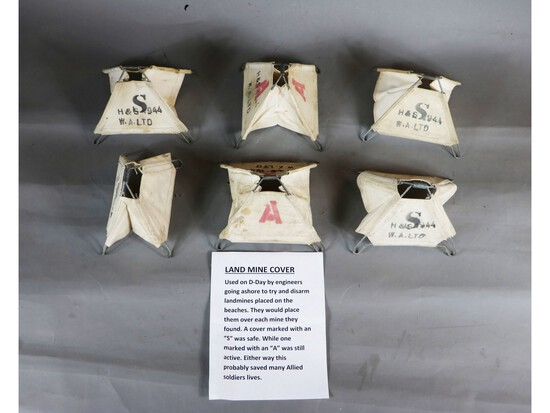 D-Day Landmine Covers (6)