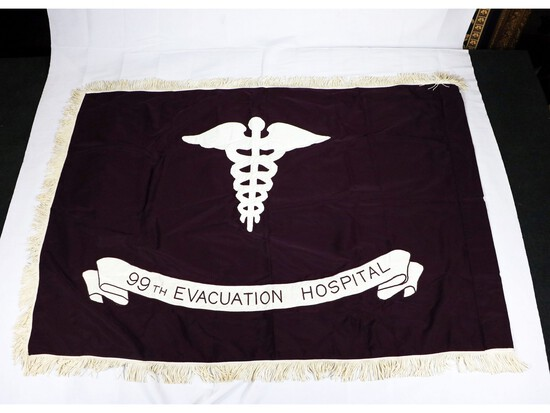 WWII 99th Evacuation Hospital Flag