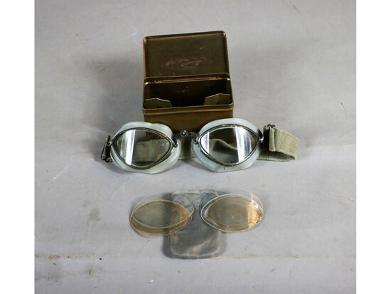 WWII German Luftwaffe Goggles