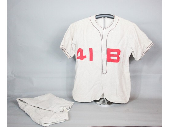 WWII-Era Baseball Uniform