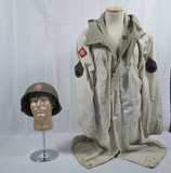 WWII US Army Reversible Winter Parka