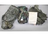 US Military Raincoat, Uniform, Backpack