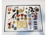 US WWII & Post WWII Medal, Badge, Ribbon Lot