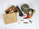 WWII Toy Nazi Helmet and Toys from Germany