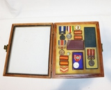 WWII Japanese Campaign Medal & Rank Insignia Lot