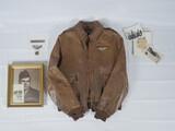 Named WWII Flight Jacket