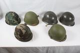 US M1 Helmet Lot (6)