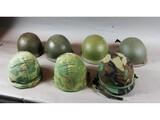 US Army M1 Helmet Lot (7)