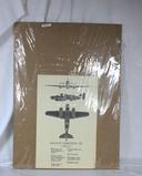 WWII Savoia Marchetti-79 Plane Poster