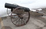 Homemade Civil War Field Cannon