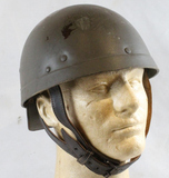French MLE1951 Dual Purpose Armored Troops Helmet