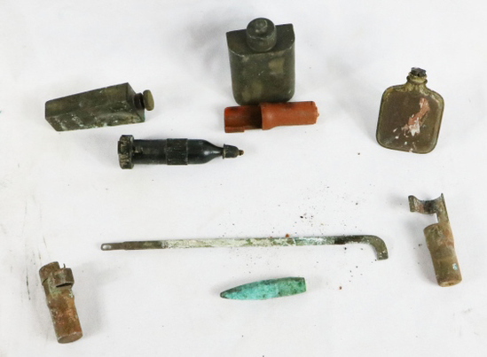 Iwo Jima Assorted Weapons Related Artifacts