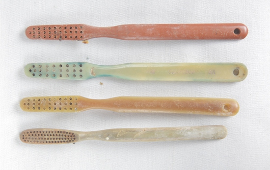 Iwo Jima Recovered Toothbrushes (4)