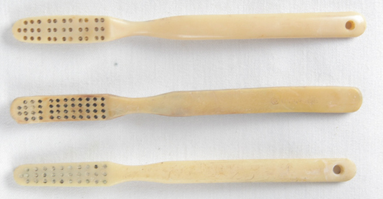 Iwo Jima Recovered Toothbrushes (3)