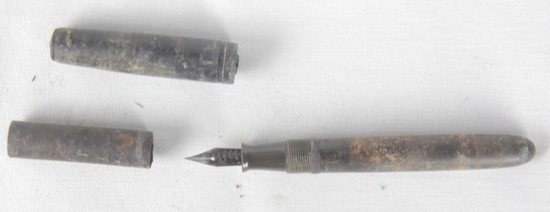 Iwo Jima Recovered Japanese Fountain Pen