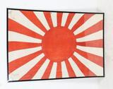 WWII Japanese Rising Sun Flag