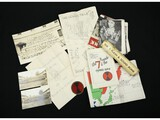 WWII Souvenir Papers and Photographs