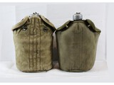 2 WWI US Canteens