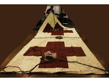 US Red Cross Large Canvas Banner