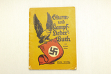 WWII German Nazi Party Song Book