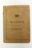WWII German SS Soldier I.D. Book