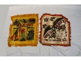 2 WWII US Army Pillow Shams